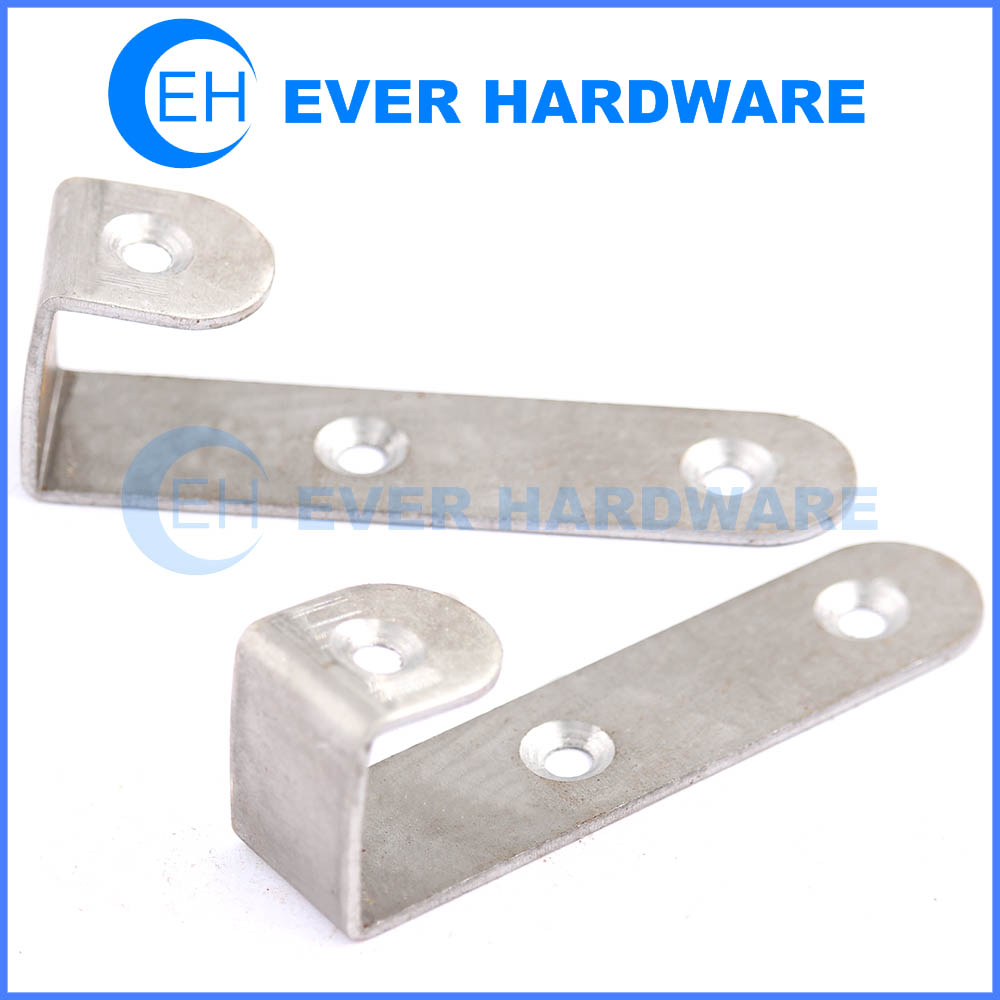 Shelf Hanging Hardware Right Angle Metal Mounting Brackets Braces