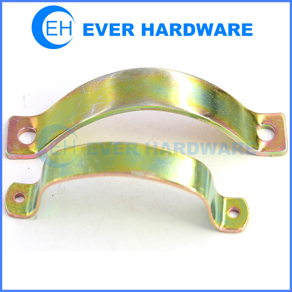 Steel spring sheet metal pipe fasteners spring clamps ...