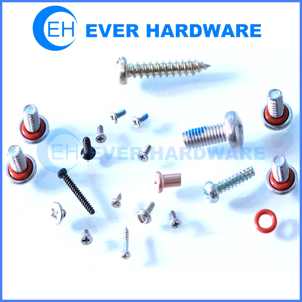 Fastening screws steel brass conex fasteners safe secure hardware custom