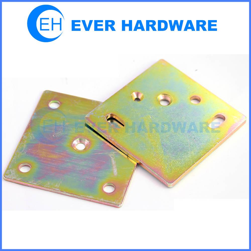 Flat metal plate galvanizing steel corner bracket flexible rectangular