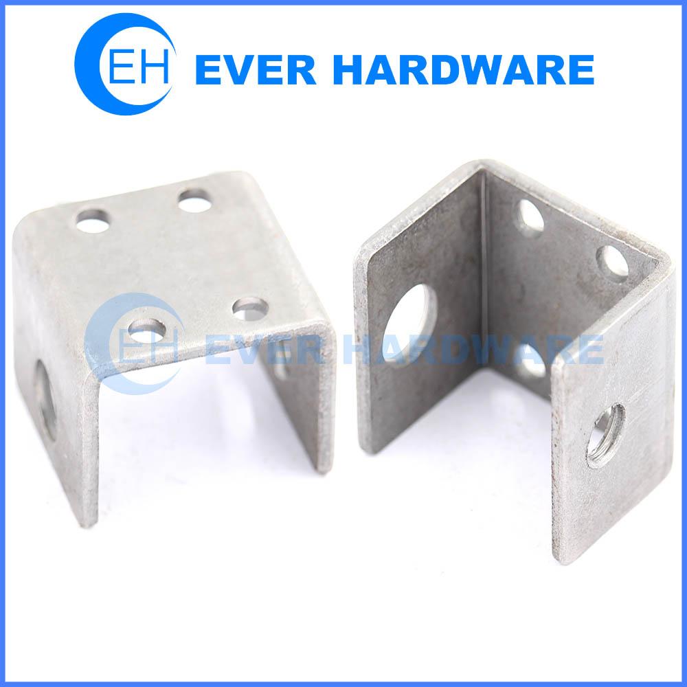 Galvanized Half Base Zinc Plating Brace Strong Tie U