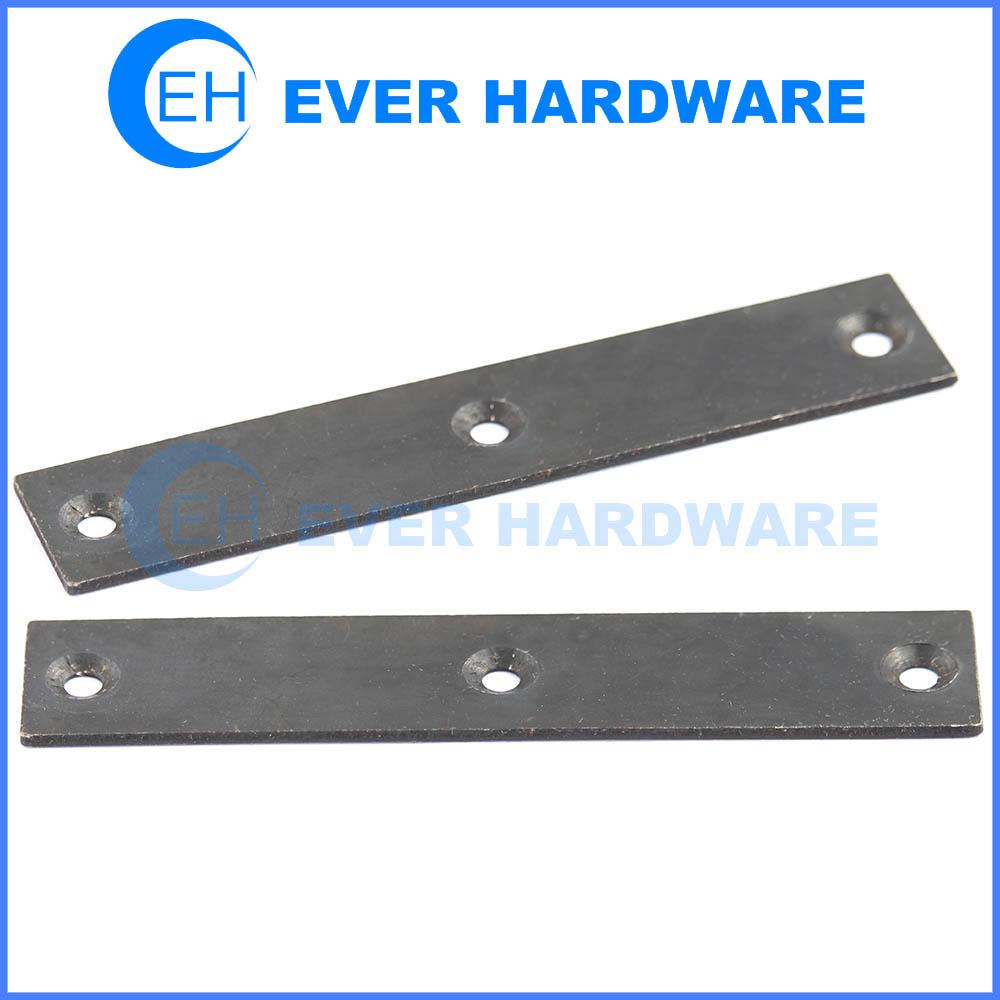 Mending brace zinc plated fixing plates flat boxed builder hardware