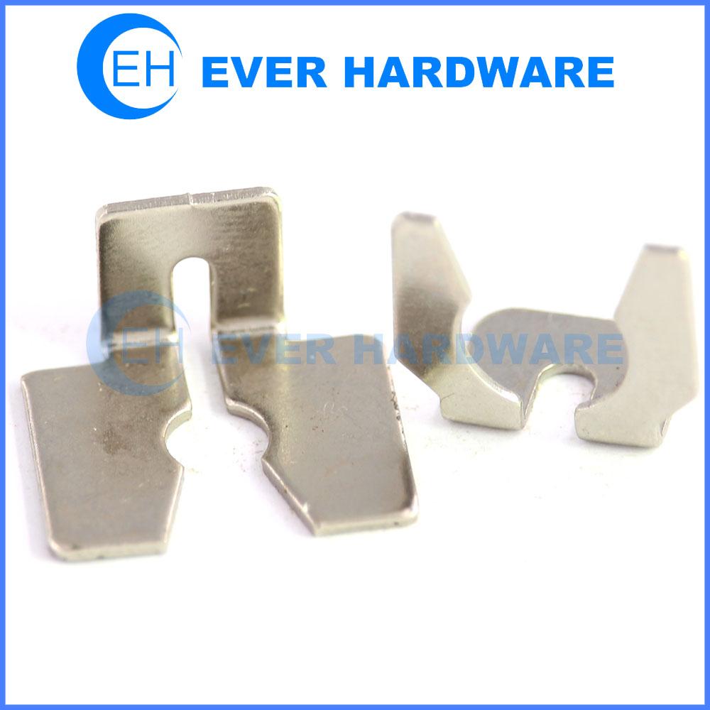 Metal brackets hook clothes hanging high tensile steel white galvanizing