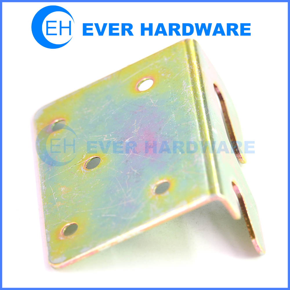 Metal furniture connector sectional metal joining bracket set ...