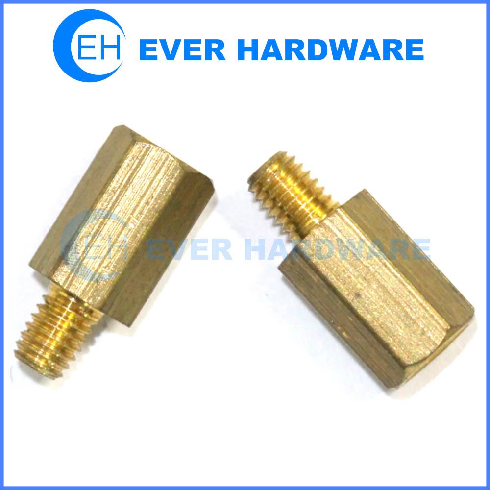 Motherboard screws brass standoff hex spacer screw PC case male female