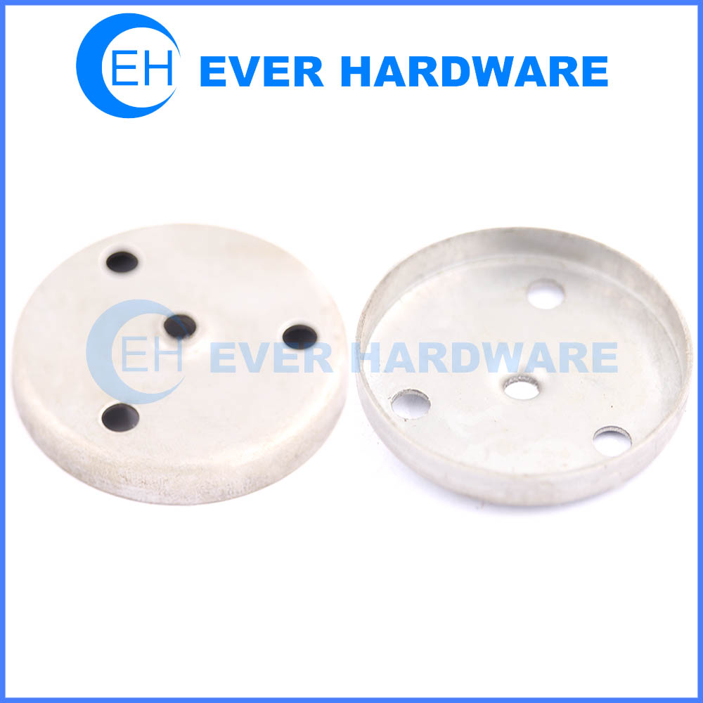 Round adapter brackets theft resistant round furniture connection