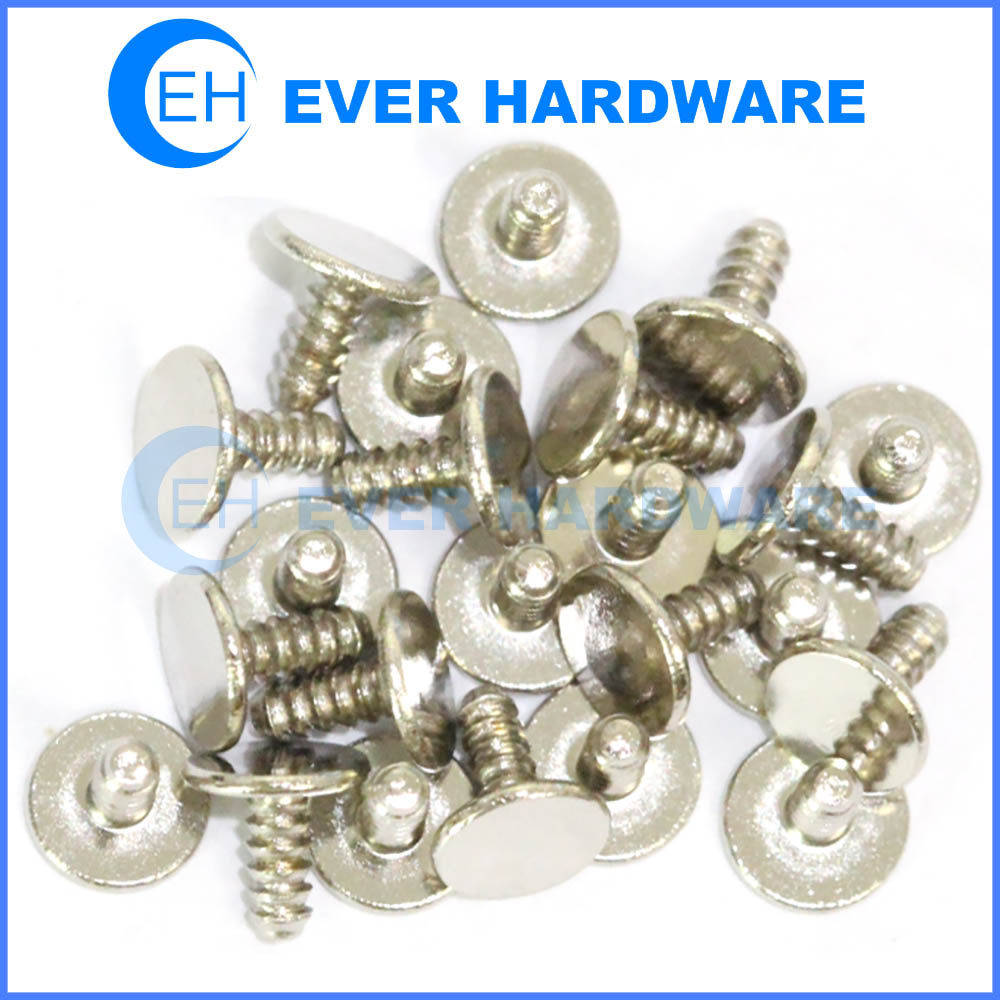 Small rivet micro threaded solid industrial rivets cap steel galvanizing