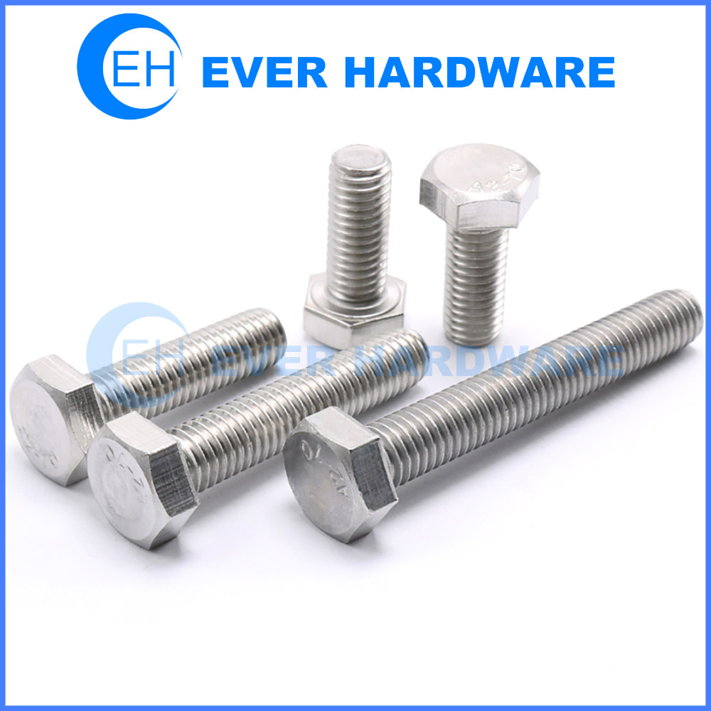 Construction Fasteners Industrial Bolts Fastening Hex Connectors