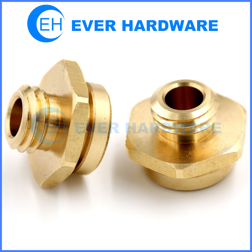 DIY CNC Machine Parts Rapid Prototyping Brass Machining Component