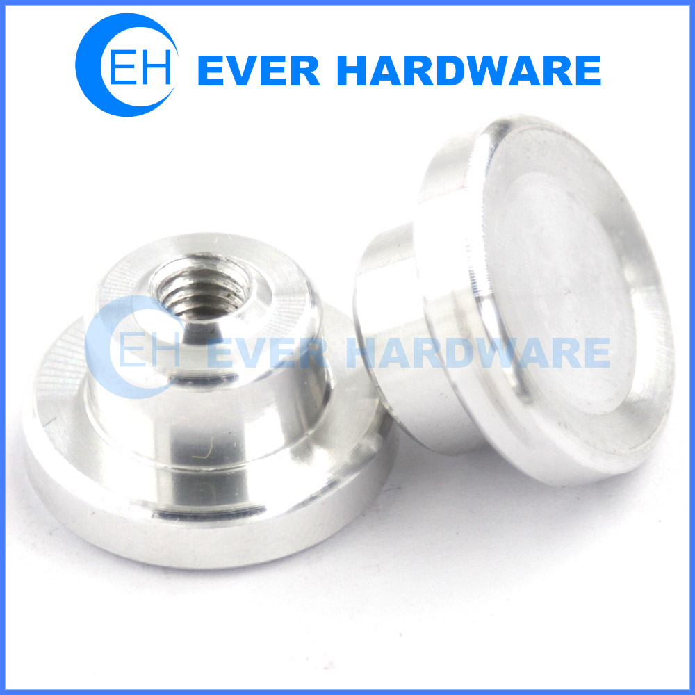 Electronic Fasteners Aluminum Turning Internal Threaded Components