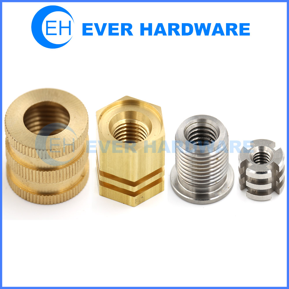 Fastener Nut Custom Non-Standard Hardware Precision Brass Stainless