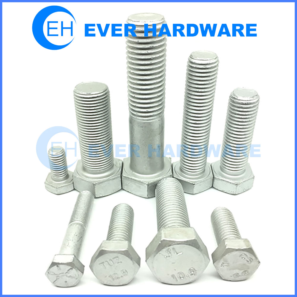 Fasteners And Bolts Threaded Engineering High Strength Hardware