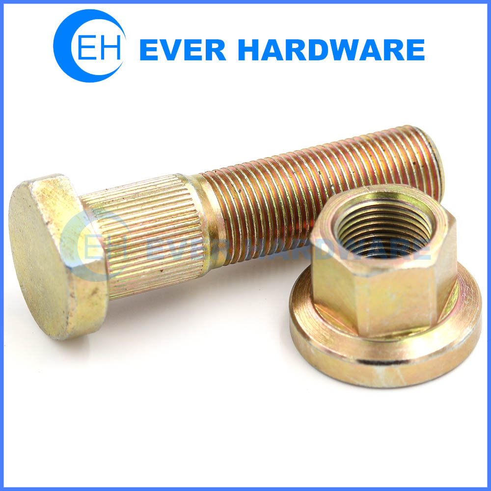 High Tensile Fasteners Automotive Bolts Nuts Grade 12.9 Manufacturer