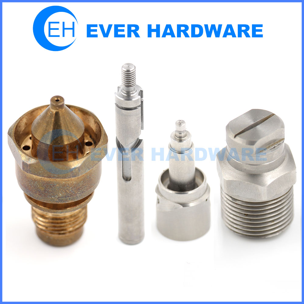 Lathe Machine Components Custom Precision Industry CNC Manufacturer