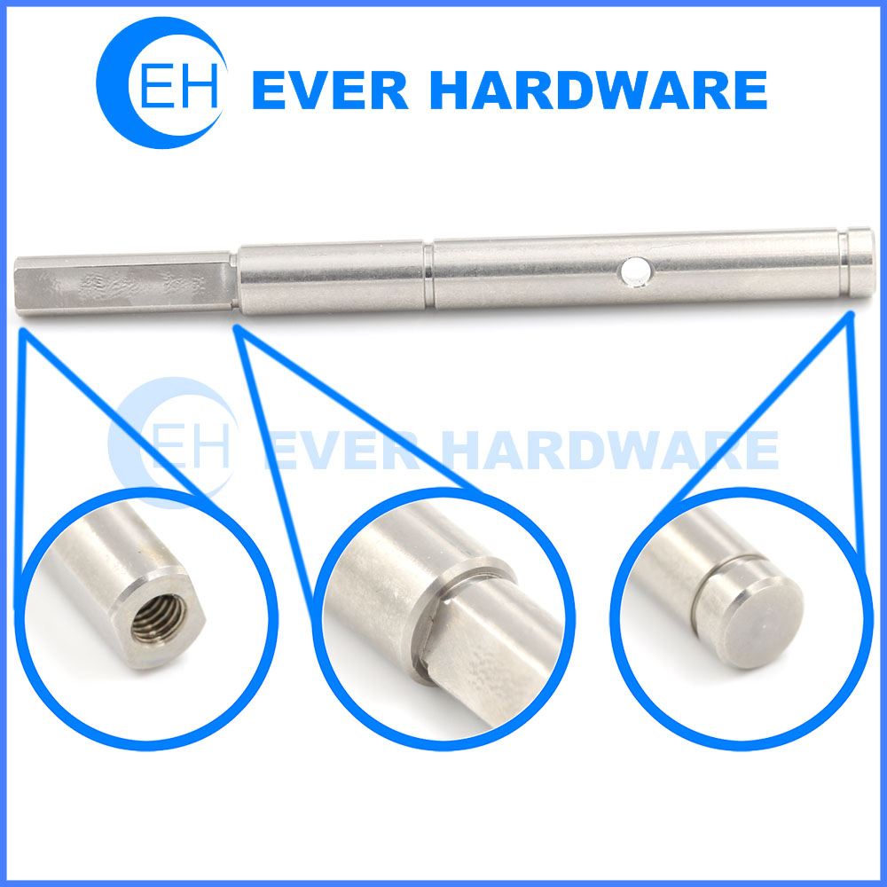 Machine Lathe Parts Axis Pin CNC Machining Automatic Components