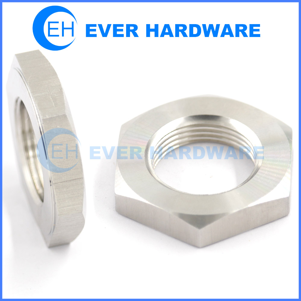 Machine Screw Nuts Industrial Washer Nut Stainless Steel Hexagonal
