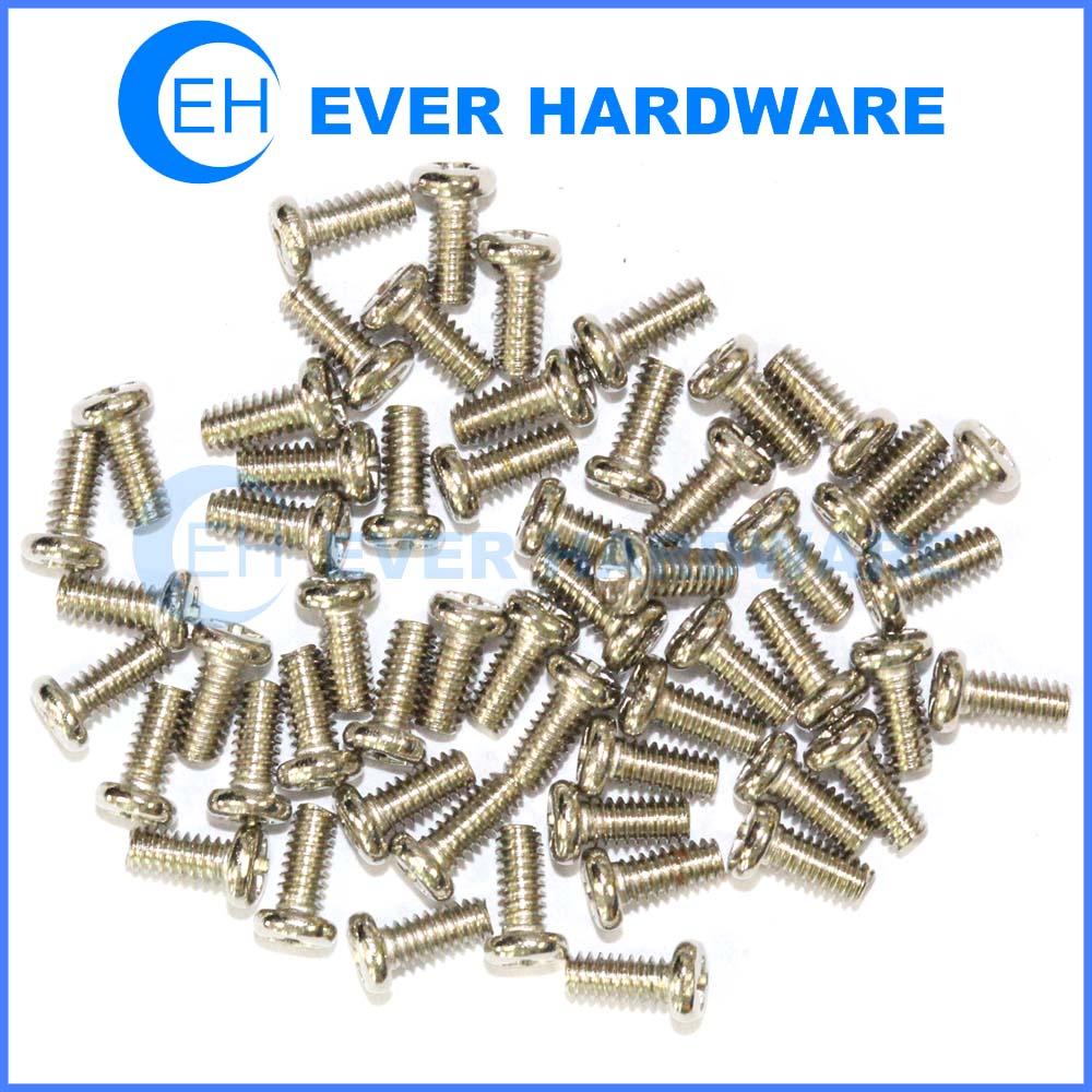 Micro Fasteners Screws Custom Electronics Small Miniature Bolts Supplier