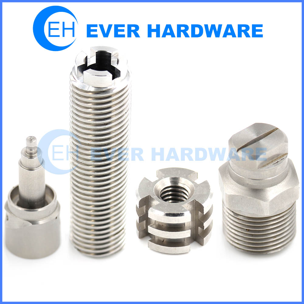 Nuts Screws Bolts Medical Hardware Parts Machinery Metal Precision