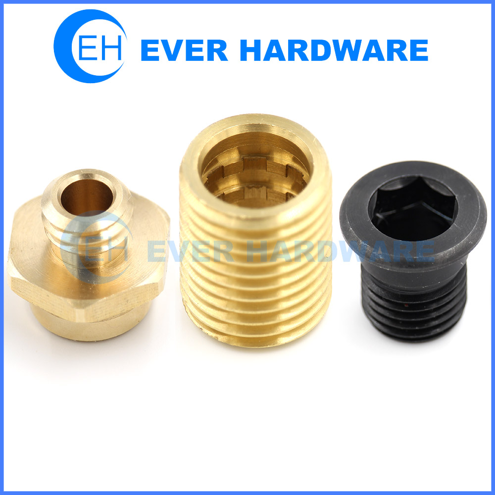 Outside Threaded Nut Pipe Tube Fitting Custom Special Fasteners