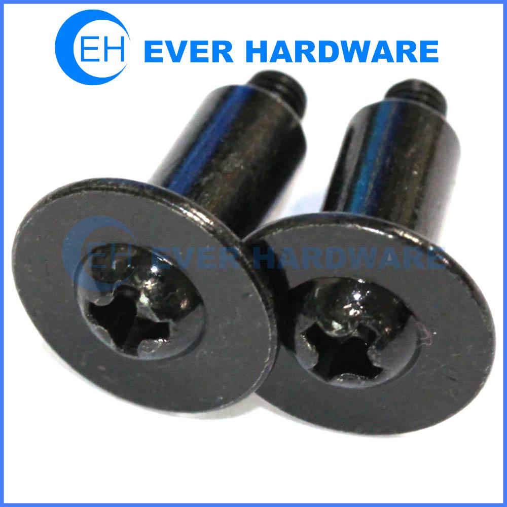 Phillips Fastener Products Big Washer Round Head Cross Black Screws