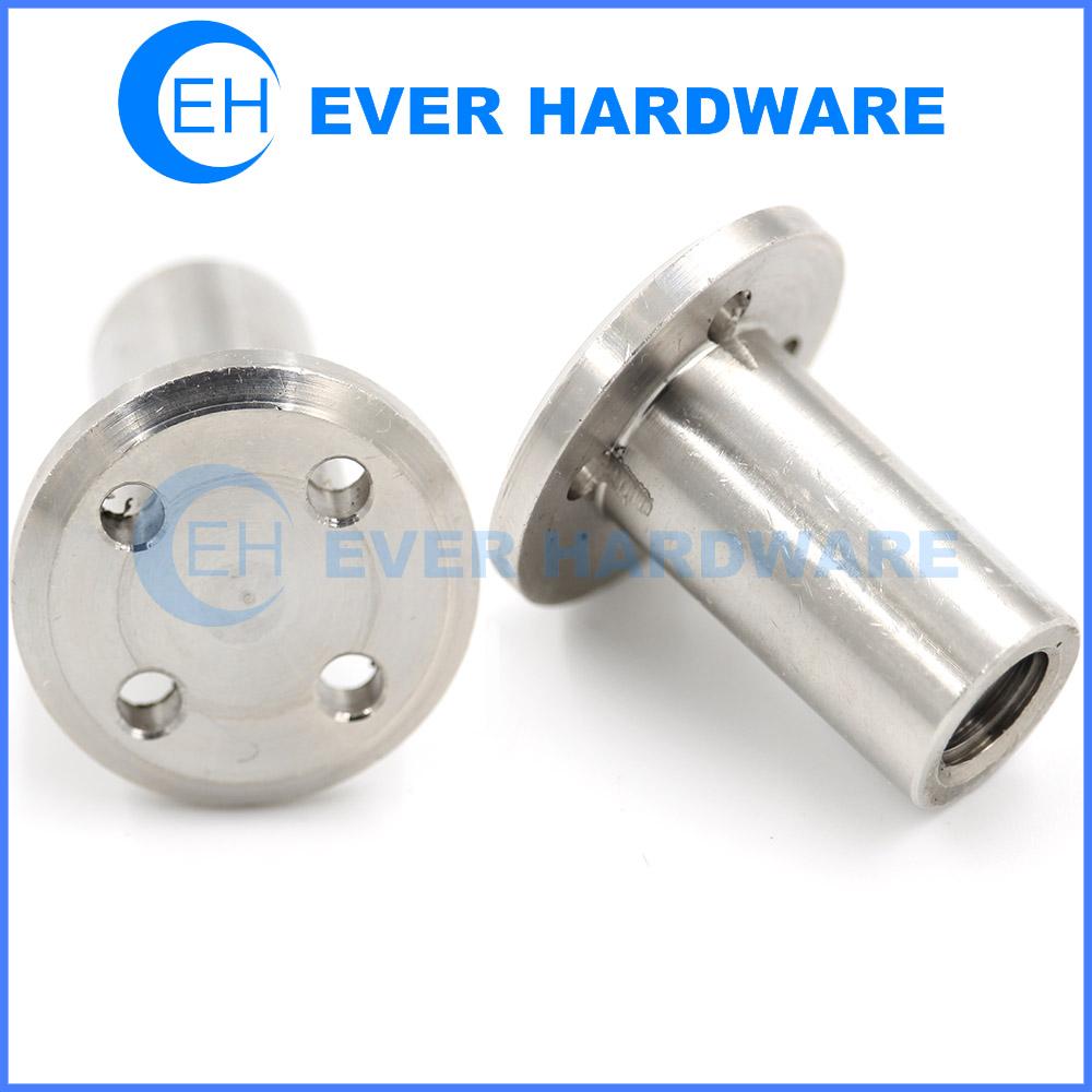Stainless Steel Rivets Furniture Rivet Hole Flat Threaded Rivnut Custom
