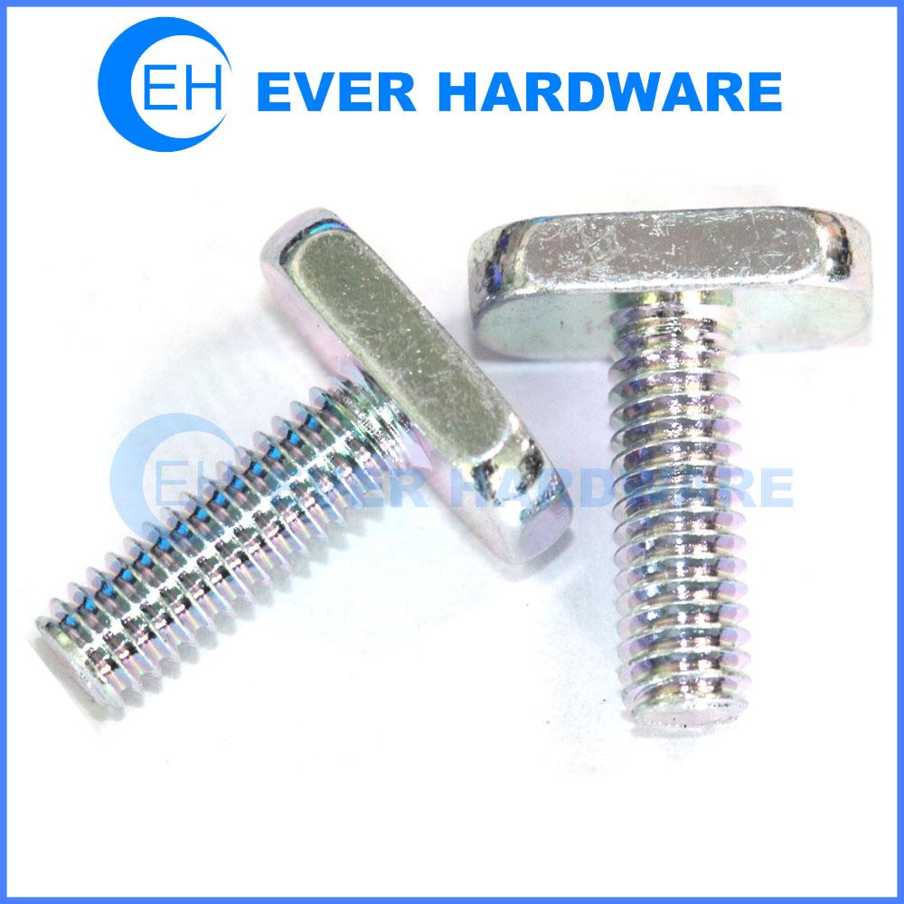 T Screw Security Steel Hammer Head Bolt Connector T Shape Solar Panel