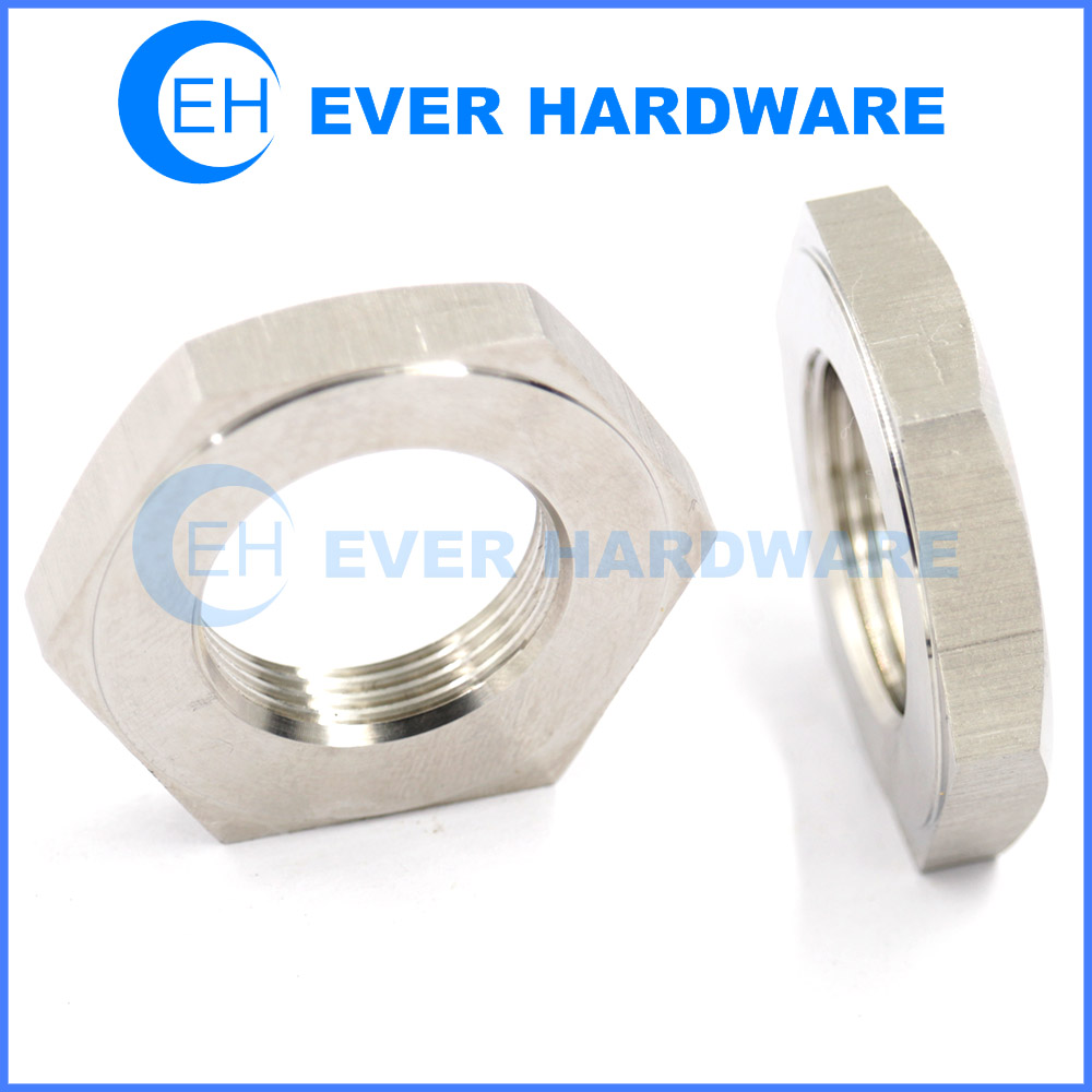 Thin Nut Metric Threaded Non-standard Right Left Hand Hex Manufacturer