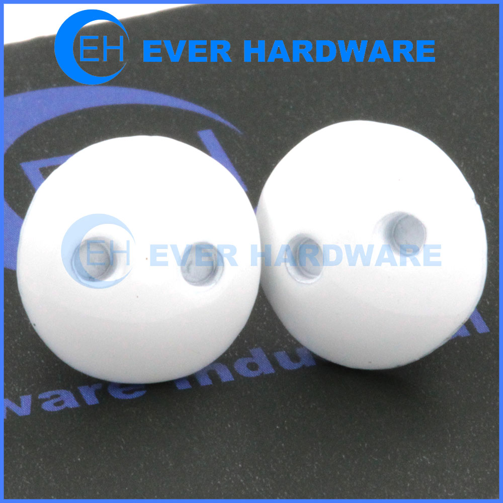 White Truss Head Screws Spanner Painted Temper Proof Security Bolt