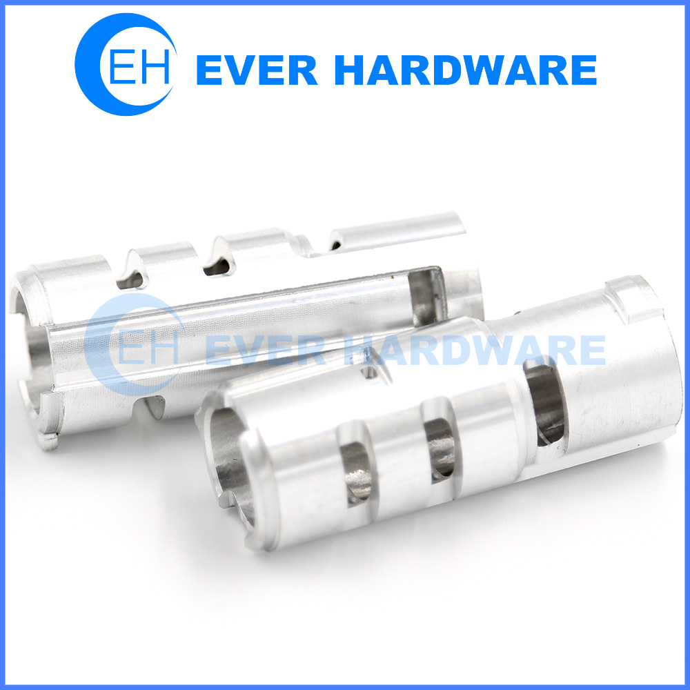 Aluminum CNC Parts Air Tool Precision Finishing Pipe Axis Bearing
