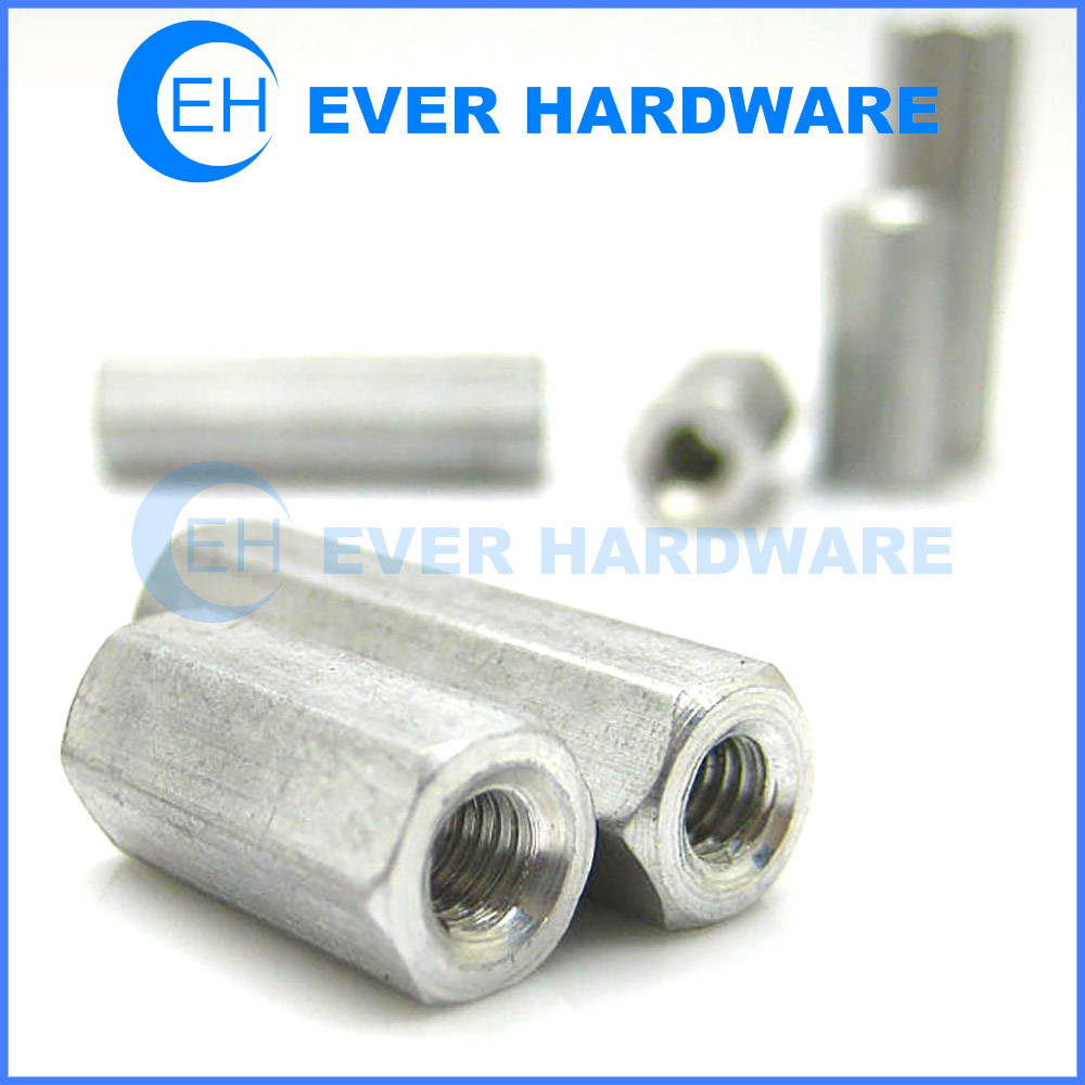 Aluminum Spacers Standoffs Small Female Threaded Connector Fastener