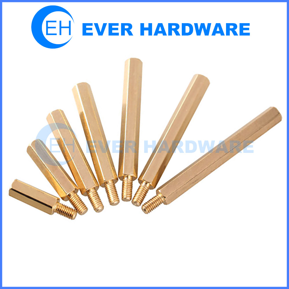 Brass Standoff Bolts Spacers Fitting Hardware Hex Electrical Parts