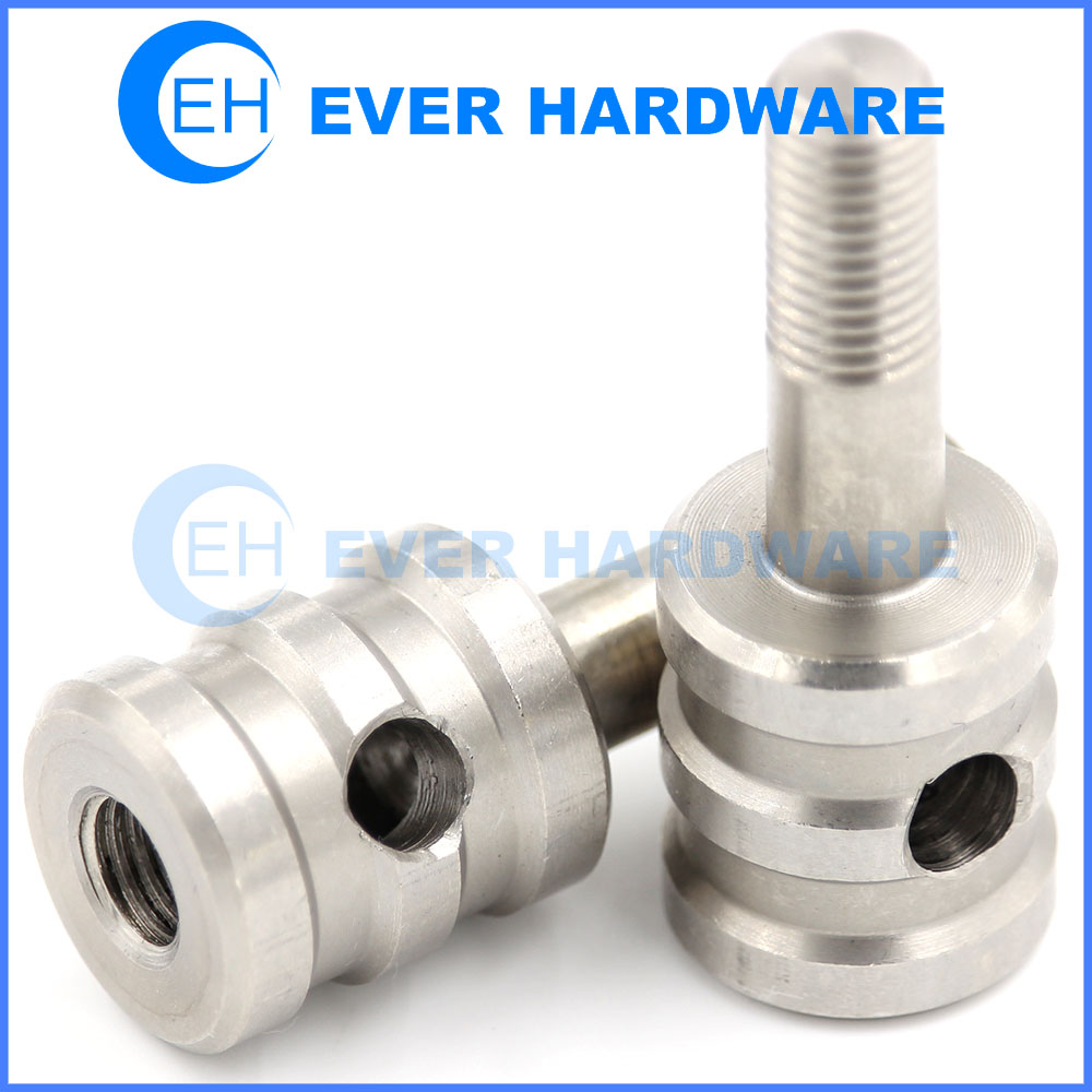Cabinet Screws Bolts Stainless Custom Cylinder Hole Internal Thread