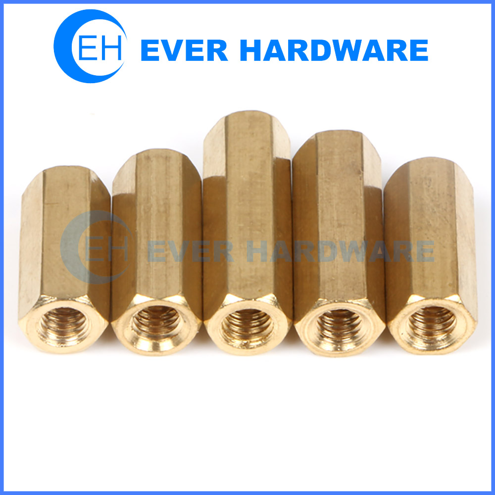 Hardware Standoffs Standard Metric Hex Rod Coupling Nuts Threaded
