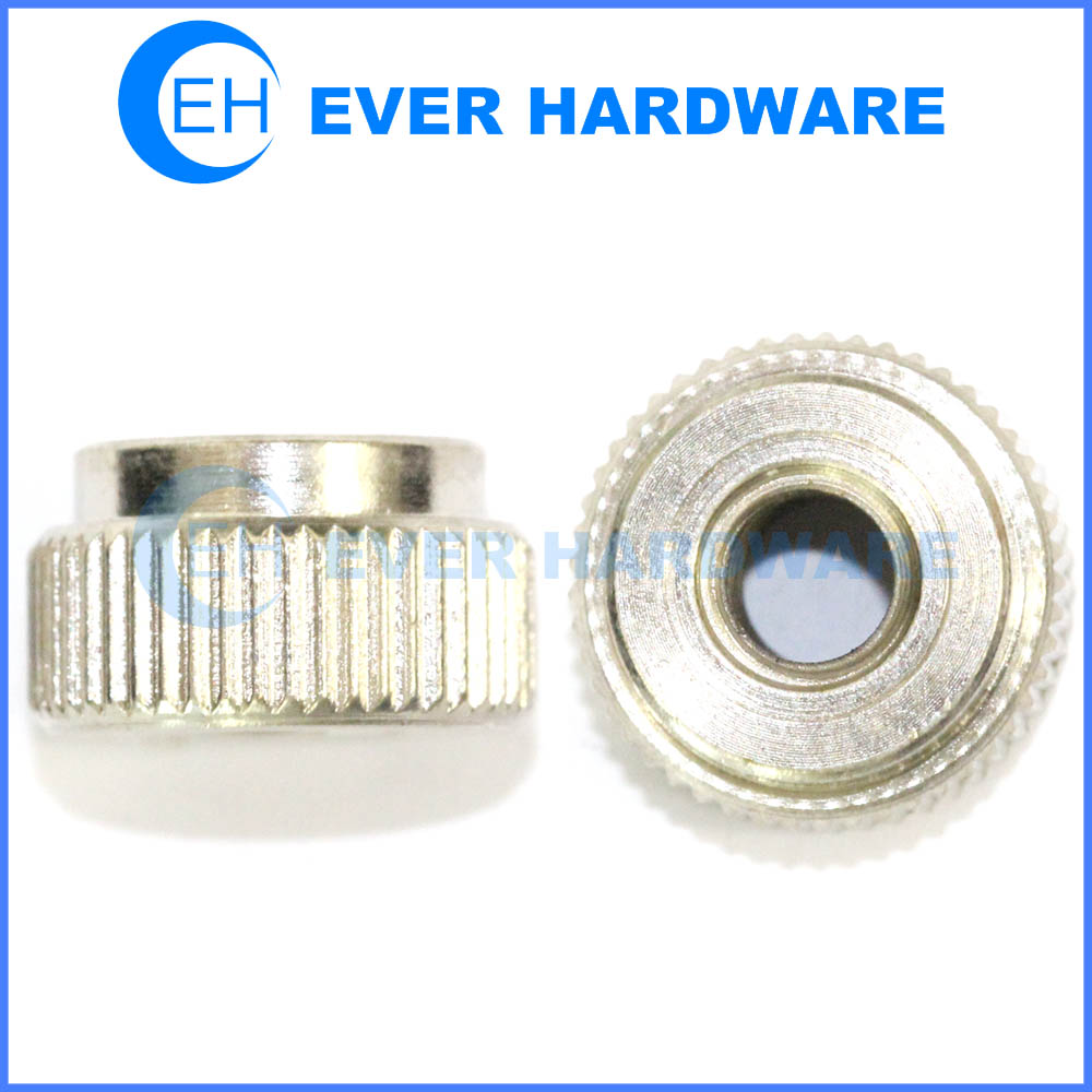Lock Nut Stainless Steel Knurled Locknut Pipe Fitting Step Inserts Custom