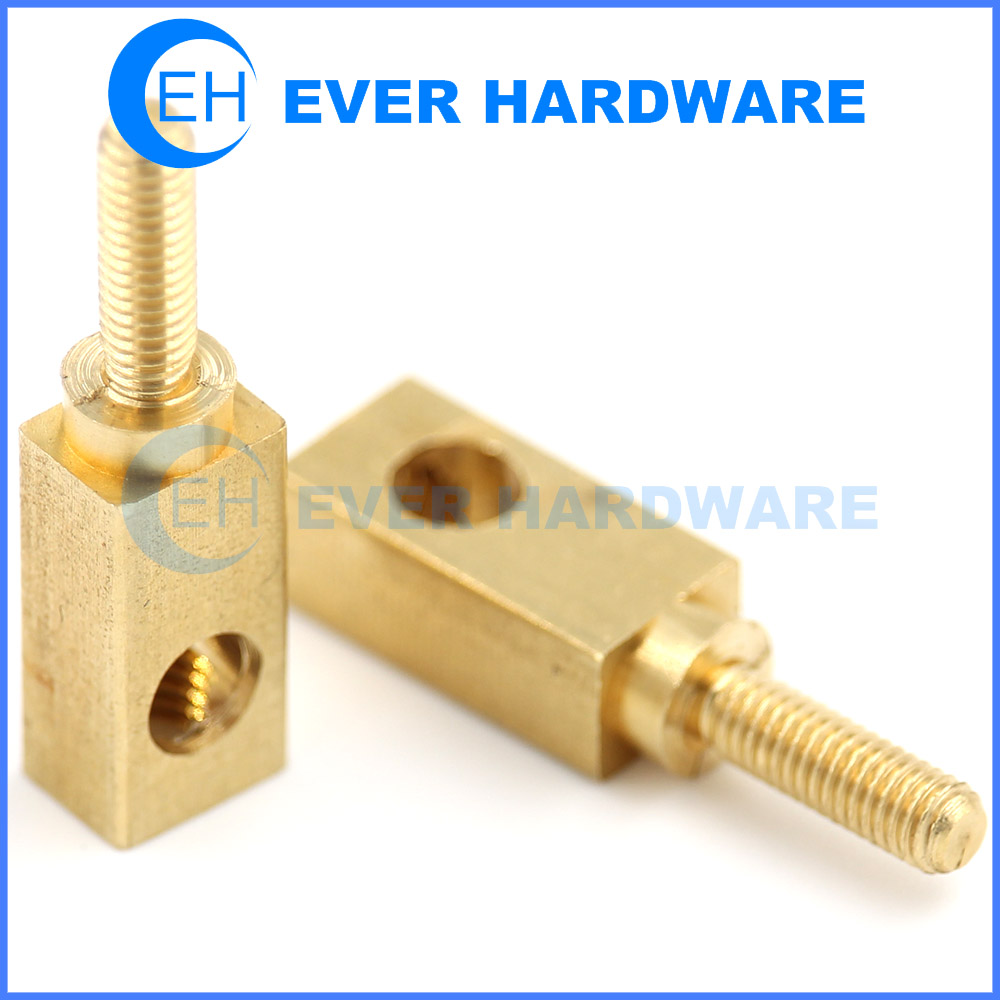 M3 Spacer Standoff Screw Nut Brass Square Brass For PCB Male Female