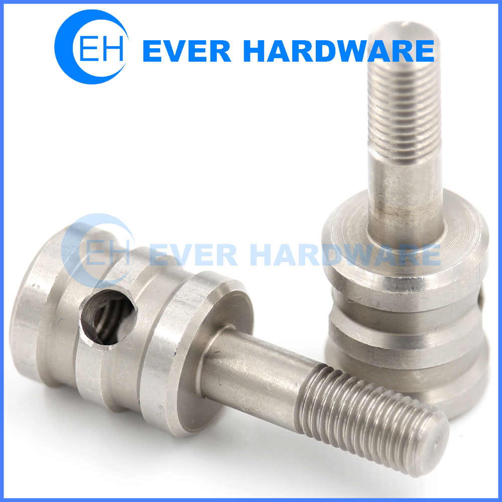 M6 Bolt Custom Furniture Bolts Stainless Steel Captive Cylinder Stud