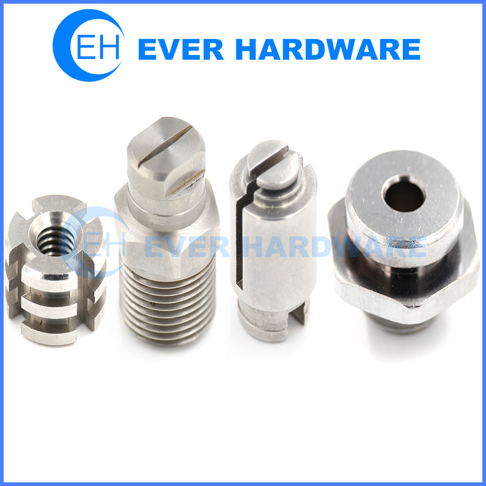 Metal Machined Parts Milling Turning Precision Electronic Components