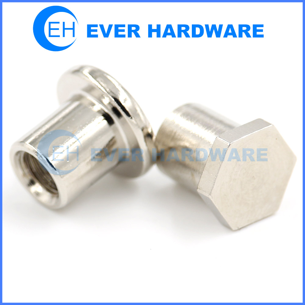 Metric T Nuts Coarse Threaded Round Hex Jack Well Shoes Nut Custom
