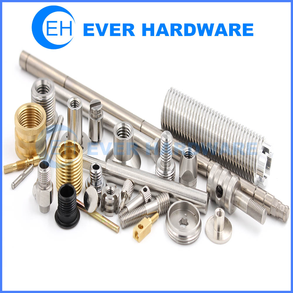 Nut Bolt Stainless Steel Aluminum Custom Precision Fasteners Hardware