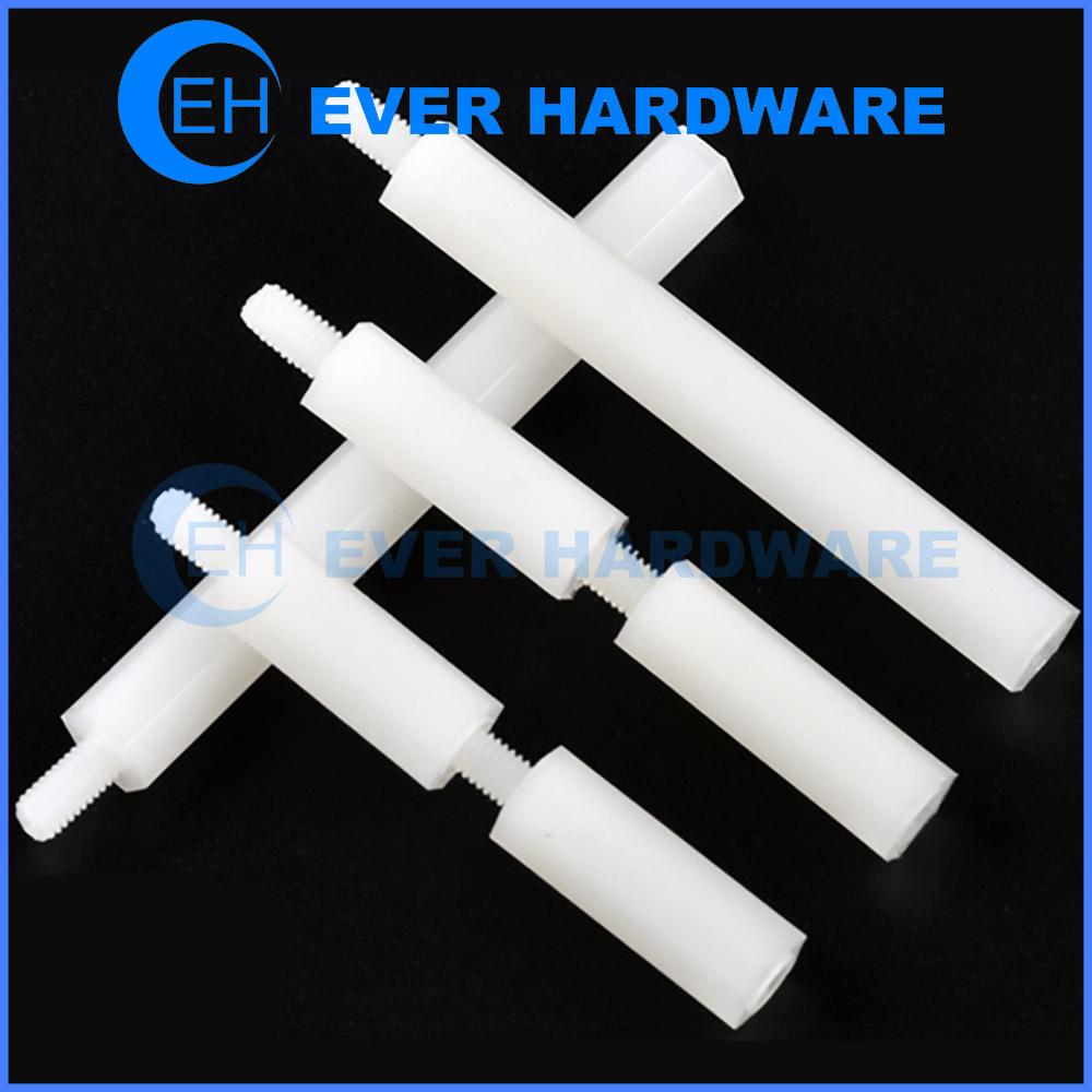 Plastic Standoff Spacers Nylon Threaded Pillars Hex Male Female PCB