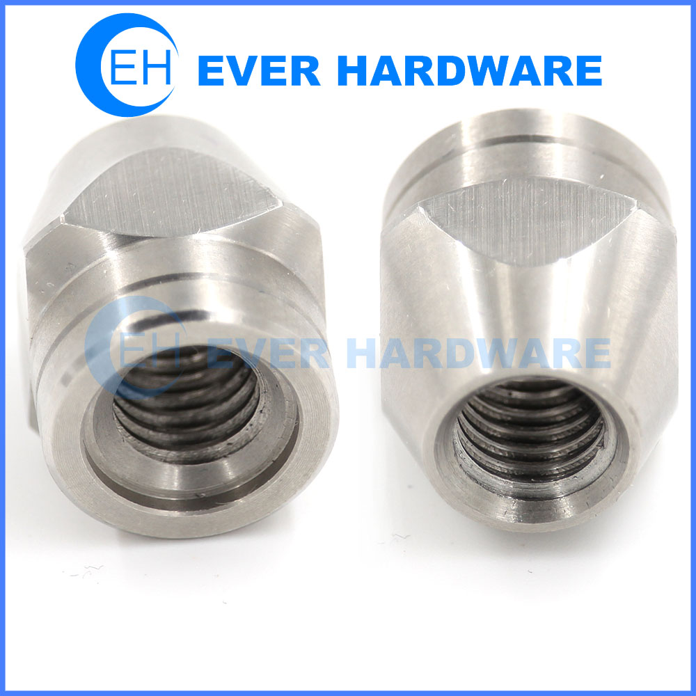 Precision CNC Machined Parts Metal Turned Drilling Lamp Components