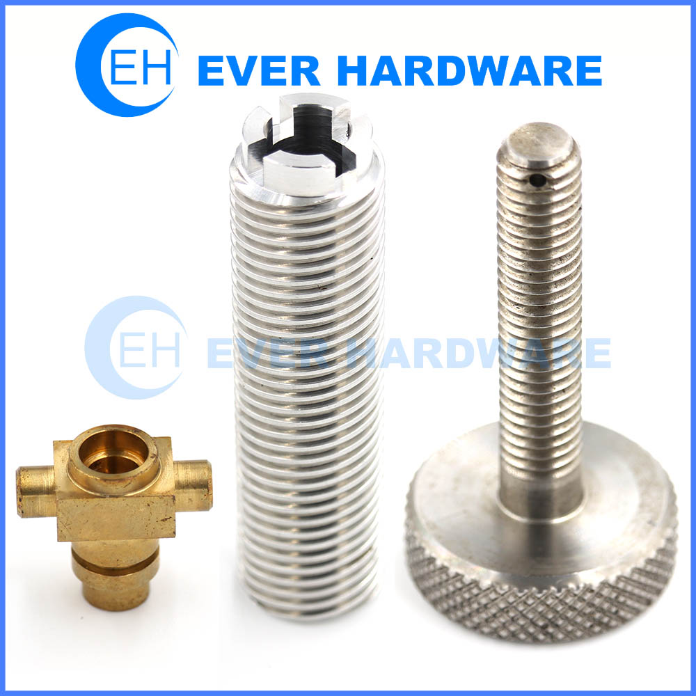 Prototype Parts Rapid CNC Machining Small Components High Precision