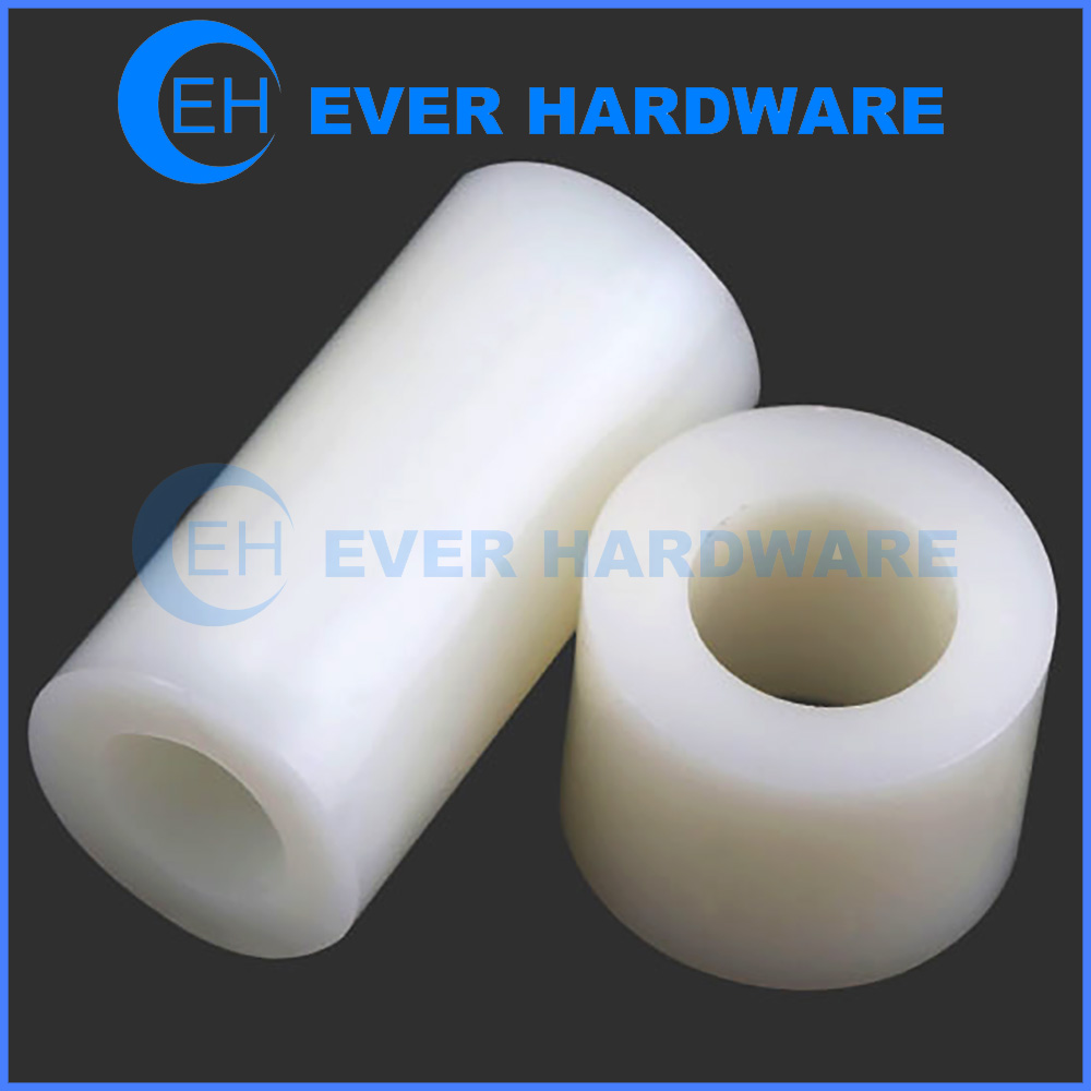 Round Nylon Spacers ABS PCB Board Washers No Threads Plastic