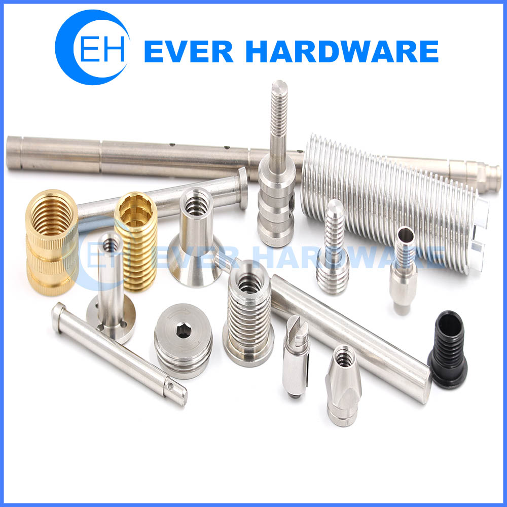 Screw Machine Parts Thread Rolling Rotary Broaching Tapping Electrical