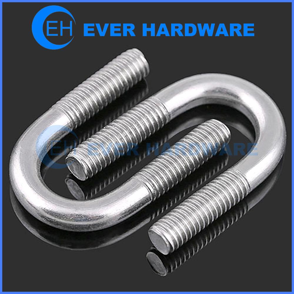 Small U Bolts Stainless Steel U-Clamp Stirrup Screws Manufacturer