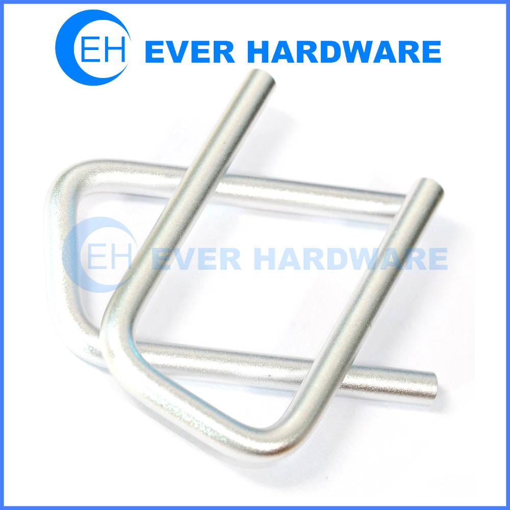 Square Bend U Bolts Aluminum Internal Threaded Electronic Fasteners