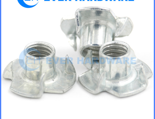 T Nut Fasteners Propell Nuts Coarse Plated Plonged Insert Fasteners