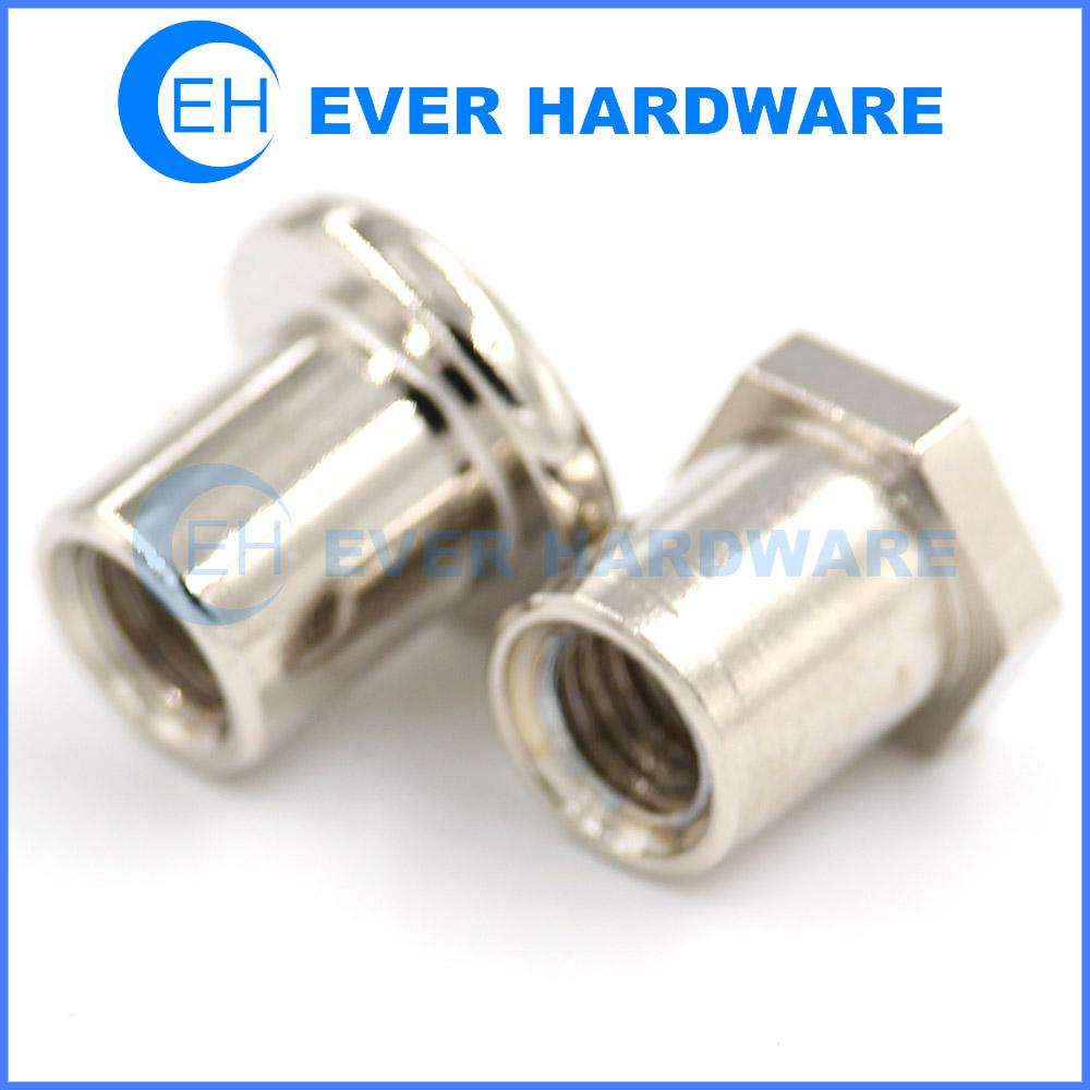 Tee Nut Fasteners Stainless Steel Round Base Propeller Insert Hardware
