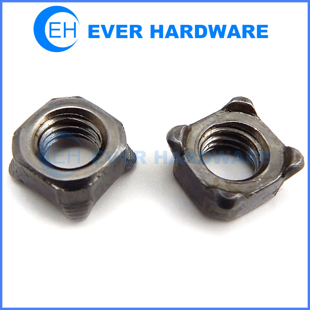 Weld Nuts Metric Square Projection Self Locking DIN 928 Manufacturer