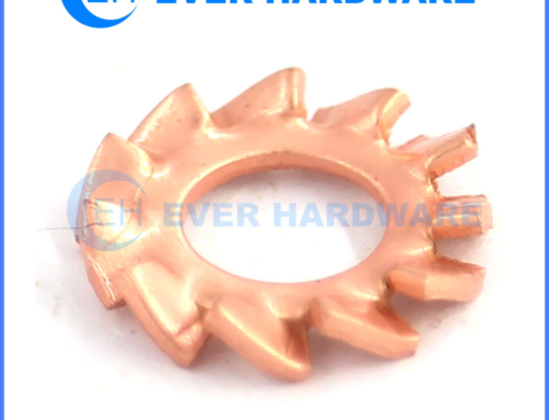 Brass Washers Solid Spacers External Tooth Lock Spring Star Custom
